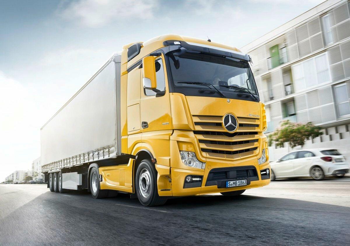 том мерседес грузовые автомобили фото новые утилизацией отходов будущее