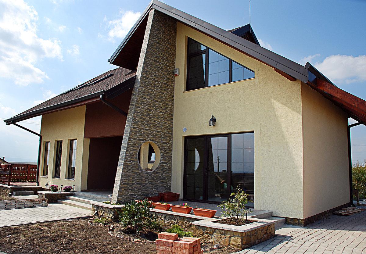 небольшой, фото построенных домов с ценами будущее под